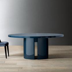 Gong Dining table | Esstische | Meridiani