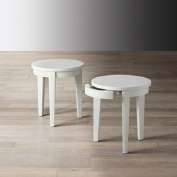 Stewart Chevet avec tiroir | Tables d'appoint | Meridiani