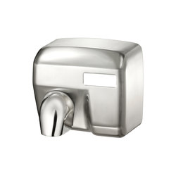 SteelTec Hand dryer, with IR sensor, chrome, MAXI | Hand dryers | CONTI+