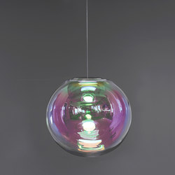 Iris - pink/green 45 | Suspended lights | NEO/CRAFT
