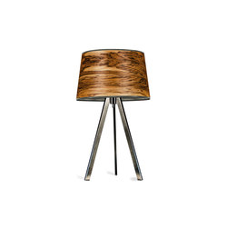 Attica | Oliveash burl | Table lights | LeuchtNatur
