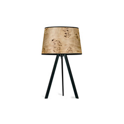Attica | Poplar burl | Table lights | LeuchtNatur