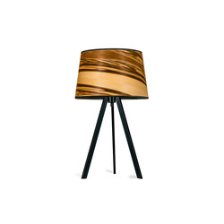 Attica | Satin walnut | Lampade tavolo | LeuchtNatur