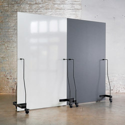 Neuland Werkwand | Straight Version Chalk Board/Whiteboard | Privacy screen | Neuland