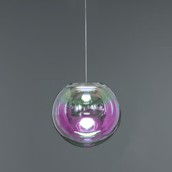 Iris - pink/green 35 | Suspended lights | NEO/CRAFT