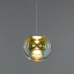 Iris - gold/indigo 35 | Suspended lights | NEO/CRAFT