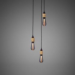 Hooked 3.0 Nude | Brass | Suspended lights | Buster + Punch