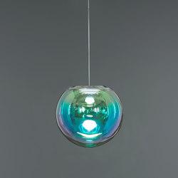 Iris - cyan/magenta 35 | Suspended lights | NEO/CRAFT