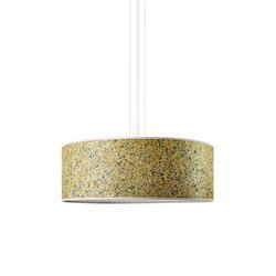 Discus Pendant | Alpine hay | Suspended lights | LeuchtNatur