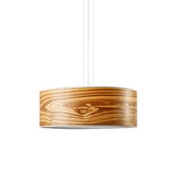 Discus Pendant | Oliveash burl | Suspended lights | LeuchtNatur