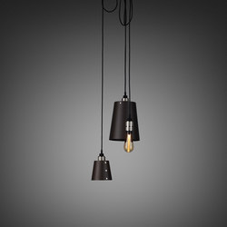 Hooked 3.0 Mix   Graphite   Steel   Suspended lights   Buster + Punch