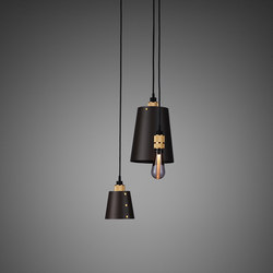 Hooked 3.0 Mix | Graphite | Brass | Suspended lights | Buster + Punch