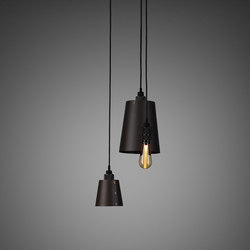 Hooked 3.0 Mix | Graphite | Smoked Bronze | Suspended lights | Buster + Punch