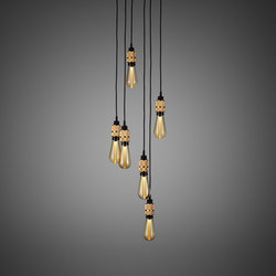 Hooked 6.0 Nude | Brass | Suspensions | Buster + Punch