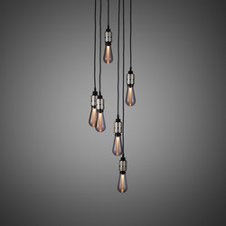 Hooked 6.0 Nude | Steel | Suspended lights | Buster + Punch