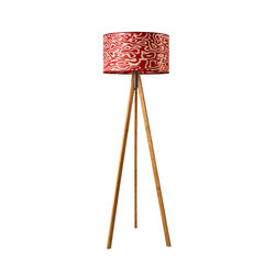 Ligno | Rosso | Free-standing lights | LeuchtNatur