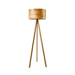Ligno | Cembra pine | Luminaires sur pied | LeuchtNatur
