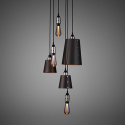 Hooked 6.0 Mix Graphite | Steel | Suspended lights | Buster + Punch