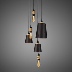 Hooked 6.0 Mix Graphite | Brass | Suspended lights | Buster + Punch