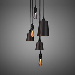 Hooked 6.0 Mix Graphite | Smoked Bronze | Suspended lights | Buster + Punch