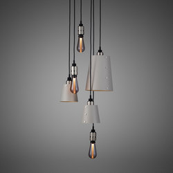 Hooked 6.0 Mix Stone | Steel | Suspended lights | Buster + Punch