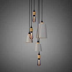 Hooked 6.0 Mix Stone | Brass | Suspended lights | Buster + Punch