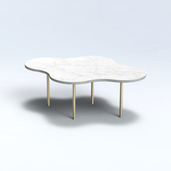 Camo C - Marble - Carrara | Coffee tables | NEO/CRAFT