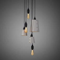 Hooked 6.0 Mix Stone | Smoked | Suspended lights | Buster + Punch