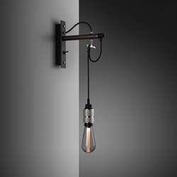 Hooked wall | nude | Graphite | Steel | Lámparas de pared | Buster + Punch