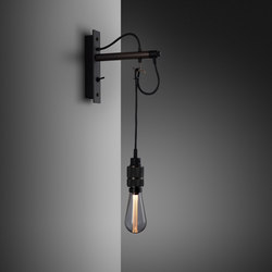 Hooked wall | nude | Graphite | Smoked Bronze | Lámparas de pared | Buster + Punch