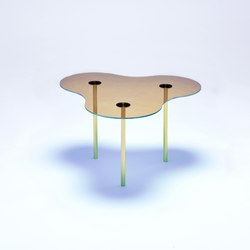 Camo A - Glass - Gold/Indigo | Coffee tables | NEO/CRAFT