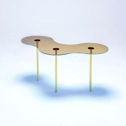 Camo B - Glass - Gold/Indigo | Coffee tables | NEO/CRAFT