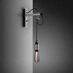 Hooked wall | nude | Stone | Steel | Wall lights | Buster + Punch