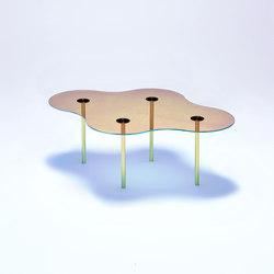 Camo C - Glass - Gold/Indigo | Couchtische | NEO/CRAFT