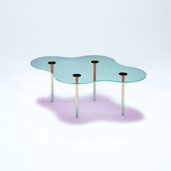 Camo C - Glass - Cyan/Magenta | Tables basses | NEO/CRAFT