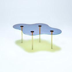 Camo C - Glass - Blue/Orange | Couchtische | NEO/CRAFT