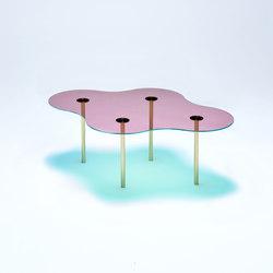 Camo C - Glass - Pink/Green | Couchtische | NEO/CRAFT