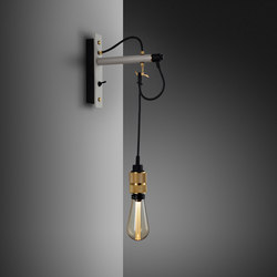 Hooked wall | nude | Stone | Brass | Lampade parete | Buster + Punch