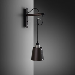 Hooked wall | small | Graphite | Steel | Lampade parete | Buster + Punch