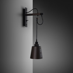 Hooked wall | small | Graphite | Smoked Bronze | Lampade parete | Buster + Punch