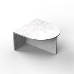Fifty Oval - marble - Carrara | Mesas de centro | NEO/CRAFT