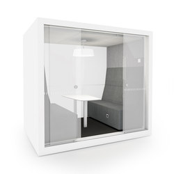 POD ROLL SMALL SLIDE | Office Pods | INTO the Nordic Silence