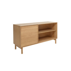 Modulo | LH door/wide adjustable shelf | Sideboards | ercol