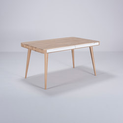 Ena table two | 140x90x75 | Dining tables | Gazzda
