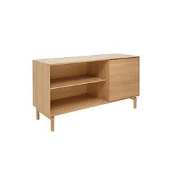 Modulo | RH door/wide adjustable shelf | Aparadores | ercol