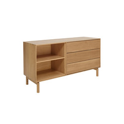 Modulo | RH drawer/narrow adjustable shelf | Sideboards | ercol