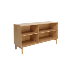 Modulo | LH narrow adjustable shelf / wide adjustable shelf | Credenze | ercol