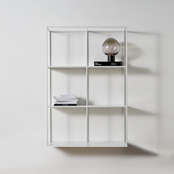 Hardy wall unit | Shelving | Meridiani