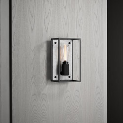 Caged Wall 1.0 Medium | Polished White Marble | Wall lights | Buster + Punch