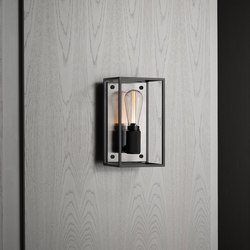 Caged Wall 1.0 Medium / Brushed Steel | Wall lights | Buster + Punch